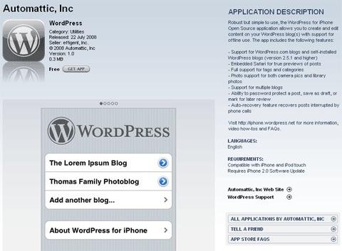 Testing WordPress for iPad