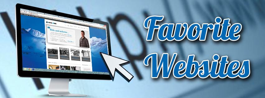 My Favorite Websites