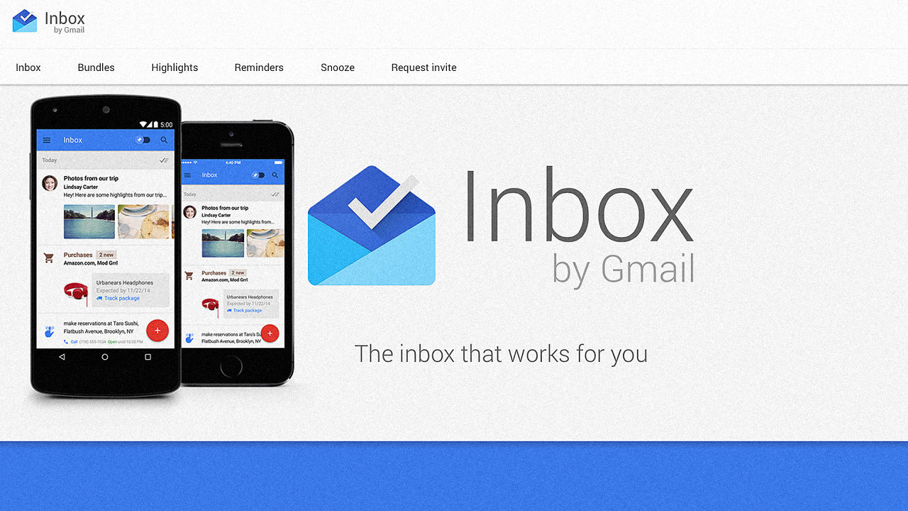 Need an Inbox by Google invte?