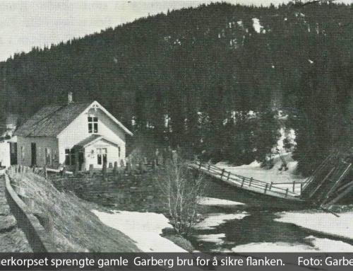 Slaget om Garberg bru i 1940